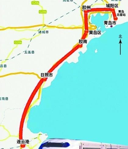 上海虹桥到青岛北